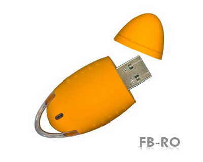 usb flash drive forma ovala