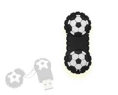 flash usb mingi fotbal din cauciuc