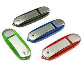 USB flash aluminiu, model clasic