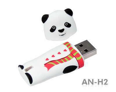 Stick USB Amuzant in forma de urs Panda