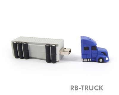 usb memory stick sub forma de camion
