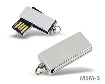 Memory stick metalic elegant fara capac