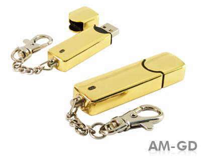 Stick USB breloc din metal