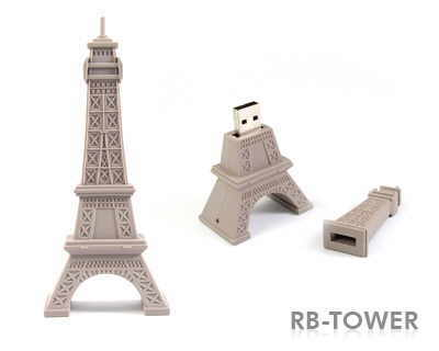 stick de memorie USB sub forma de Turn Eiffel