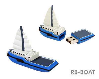 stick usb in forma de barca