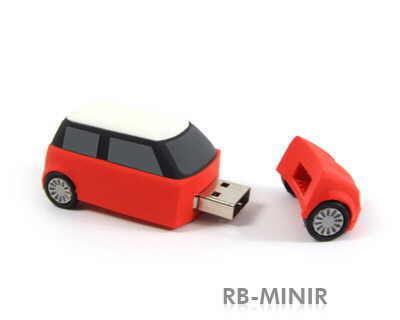 usb in forma de masina Mini Cooper