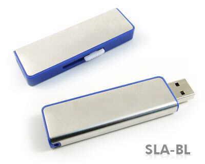 USB retractabil din aluminiu si plastic