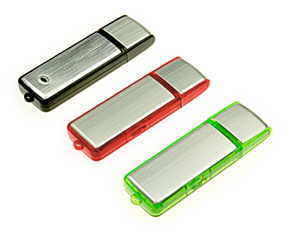 USB flash clasic metalic