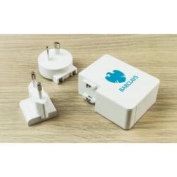 Incarcatoare USB personalizate pentru calatorie